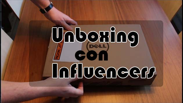 unboxing con influencers